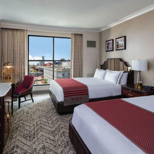 Higgins Hotel Queen Bed